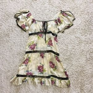 Vintage Floral Betsey Johnson Dress